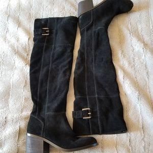 Aldo Suede thigh-high boots
